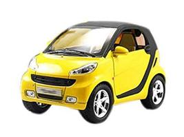 PANDA SUPERSTORE Yellow, Cute Children's Toy Car Model 1:32 Exquisite Car Toys f