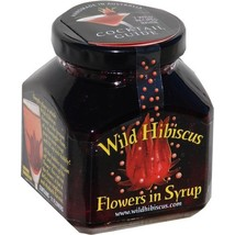 Wild Hibiscus Flowers in Syrup - 8.8 oz (250 g) - $20.95