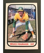 1981 TCMA West Haven A's Minor League #10 BRUCE FOURNIER - $3.91