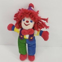 "Gymboree Primary Colors Corduroy Circus Clown Plush 8""  Stuffed Toy Yarn... - $9.99"