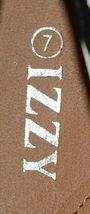 Izzy Mico Slip On Flat Rubber Sole Zebra Print Size Seven image 7