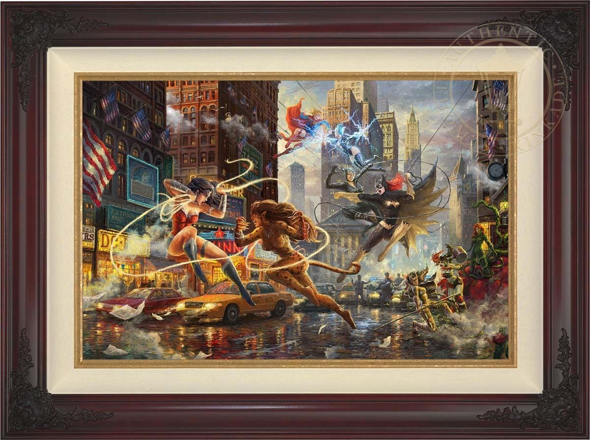 Thomas Kinkade Women of DC 18 x 27 LE Estate Edition Canvas (Framed) DC Art