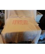 Men's Portamento Red Logo on White T-shirt Medium - $14.85