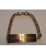 Nice Vintage 1/20-12K Gold Filled Engraved ID B... - $65.29