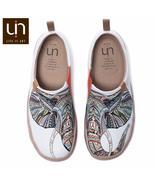 UIN Elephant Design Canvas Shoes for Women/Men Casual Flats Comfort Slip... - €67,00 EUR