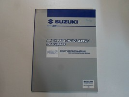 1997 Suzuki SY413 SV416 SV418 Körper Reparatur Manual Hatchback Sedan Fa... - $39.56