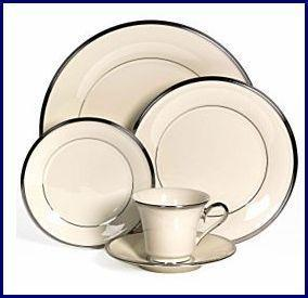 LENOX SOLITAIRE 50 Piece SERVICE FOR 8 *Gorgeous*
