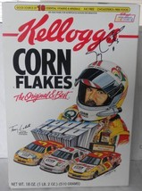 "1996 TERRY LABONTE #5 ""KELLOGG'S"" LIMITED EDITION CORN FLAKES CEREAL BOX... - $75.00"