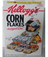 """1996 TERRY LABONTE #5 """"KELLOGG'S"""" LIMITED EDITION CORN FLAKES CEREAL BOX... - $75.00"""