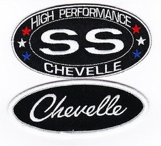 Chevy Ss Chevelle SEW/IRON On Patch Emblem Badge Embroidered V8 396 383 Stroker - $10.99
