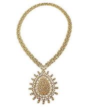1970s Monet Open-Work Runway Couture Pendant Necklace - €148,07 EUR