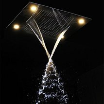 Cascada Classic Design 23 x 31 Inch large recessed rain shower head w/4 function - $2,326.45