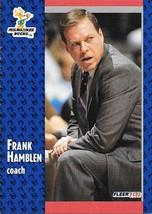 Frank Hamblen ~ 1991-92 Fleer #312 ~ Bucks - $0.05