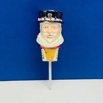 Bottle stopper pourer cork England Beefeater gin Wade figurine beard ven... - $49.45