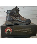 "Red Wing Steel Toe  Work Boots Irish Setter 6"" Lace Up Brown Women's Siz... - $116.99"
