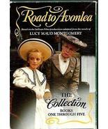 1991 5 VOLUMES L.M. MONTGOMERY ROAD TO AVONLEA SLIPCASE ANNE GREEN GABLE... - $88.11