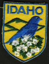 VINTAGE IDAHO EMBROIDERED CLOTH SOUVENIR TRAVEL PATCH - $9.95