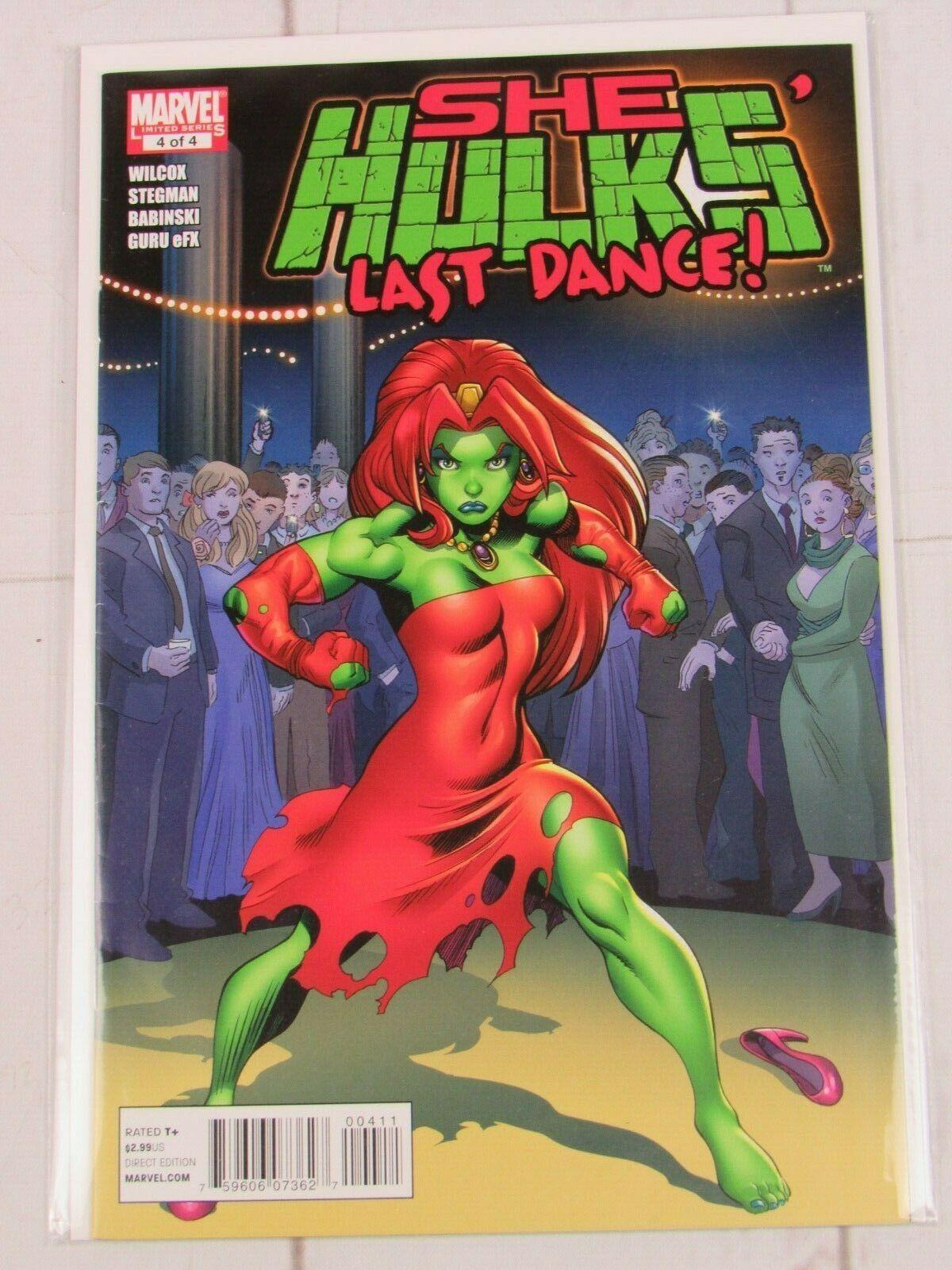 She-Hulks Last Dance Limited Series #4 - Marvel Comics Book 2011 She Hulk