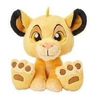 "Disney Parks The Lion King Simba Big Feet 10"" Plush New with Tag - $33.47"