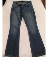 Levi's Too super low Jeans size 1 S/C  w 27 I 29 R 6.5 Cuff 8 - $12.46