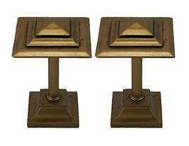 Urbanest Rockwell Designer Decor Drapery Medallion Holdback, 2 Pieces, Gold - $25.73