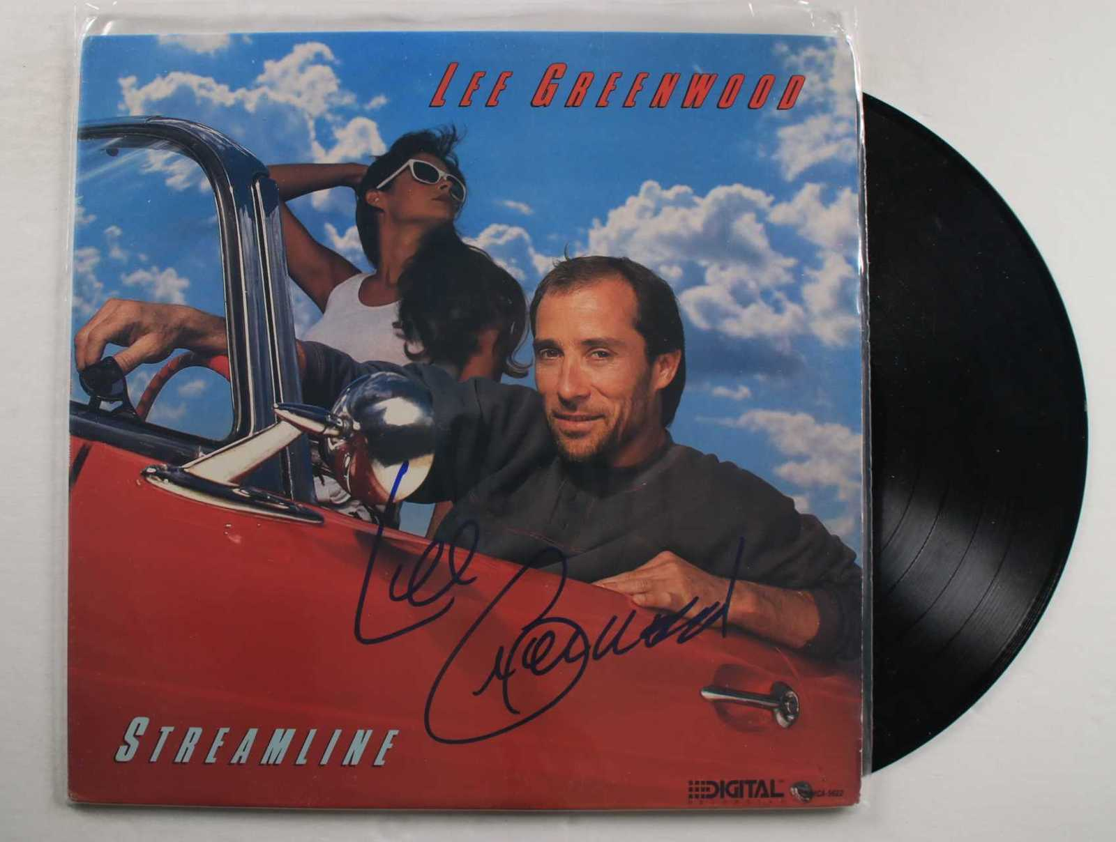 "Primary image for Lee Greenwood Signed Autographed ""Streamline"" Record Album"