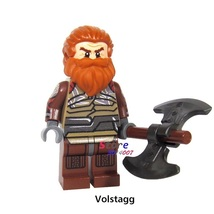 1pcs Volstagg the Valiant Warriors of Asgard Marvel Thor Ragnarok Minifigures - $4.95