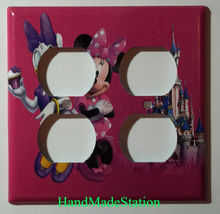Minnie Mouse Daisy Cup Cake Light Switch Power Outlet Wall Cover Plate decor image 13