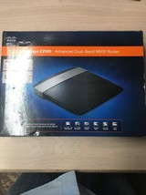 LINKSYS Cisco E2500 300 Mbps 4-port Wired & Wireless 10/100 Router N600     AD2