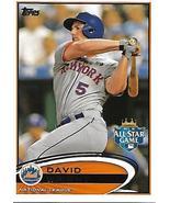 Baseball Card- David Wright 2012 Topps US280 - $1.00