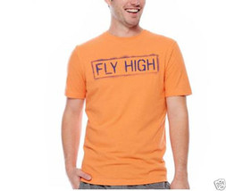 Xersion Fly High Graphic Tee Size XL Orange Nasturtium New With Tags - $11.99