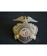 Los Angeles Police. Prototype Police Hat Badge. Non Issued Badge - $98.59