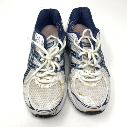 Asics Womens GT 2140 Gel Running Shoes Sz 8 Duomax T955N (D) Blue White Sneakers - $53.71 CAD