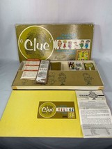 Vintage Clue Board Game Complete Parker Brothers 1963 with Instructions - $14.00