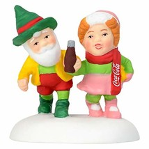 Department56 North Pole Series Village Accessories Have a Coke and a Smi... - $13.44