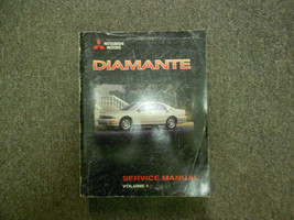 1998 Mitsubishi Diamante Service Repair Shop Manual Volume 1 Factory Oem Book 98 - $23.81
