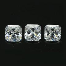 8  x 8 mm Top Quality Cushion cut Cubic Zirconia 3.25cts Dvvs Quality 3A... - $2.99