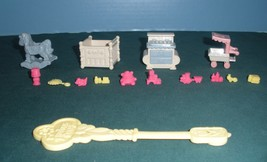 Vintage Fisher Price Precious Places #5175 Baby's Nursery Complete/VG++-... - $23.99