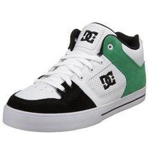 Men's Guys Dc Shoes Radar White Mid Tops Sb Skateboarding Sneakers - $59.99