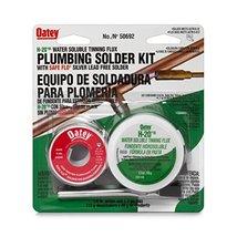 Oatey 50692 Safe-Flo Wire Solder Kit, 1 Oz Carded, Solid, Gray - $33.48
