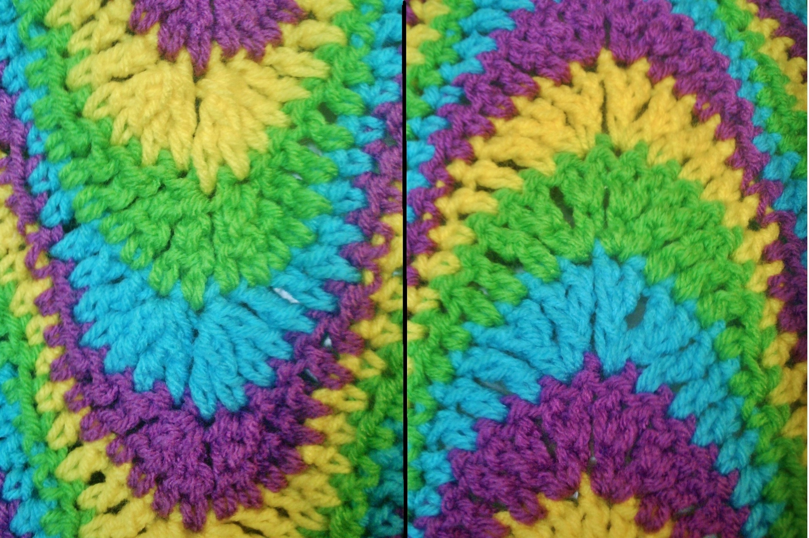 Three 3 exaggerated ripple afghan crochet and 13 similar items 020 23 thumb200 bankloansurffo Images