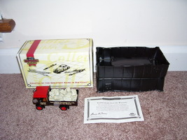 Matchbox YORKSHIRE STEAM WAGON De Selby Quarries DUBLIN NEW! w/COA - $37.96