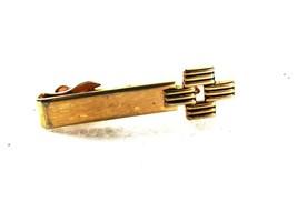 Goldtone Cross Style Tie Clasp By SWANK 31916 - $16.99