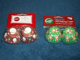 200 Christmas Mini Baking Cups - $1.99
