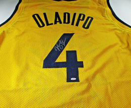 VICTOR OLADIPO / 2019 NBA ALL-STAR / AUTOGRAPHED INDIANA PACERS CUSTOM J... - $158.35