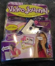 Mattel Girl Tech Video Journal Camera/Software Desktop Digital Diary Jou... - $28.71