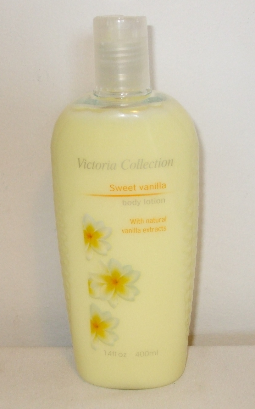Victoria Collection New Sweet Vanilla Body Lotion 14 oz
