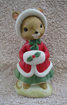 Vintage Hand Painted Lefton Christmas Mouse #02469  - $12.99