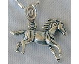 Small horse silver pendant thumb155 crop