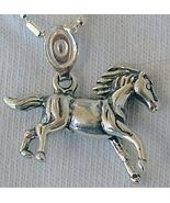 Mini horse silver pendant - $24.00